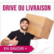 Drive ou Livraison : A vous de choisir chez CED