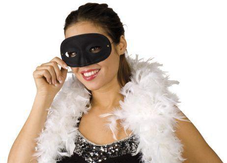 Loup masque noir pour adulte
