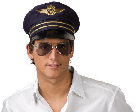 CASQUETTE D'AVIATEUR (Casquette de pilote)