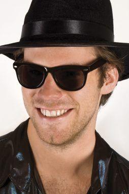 Lunettes noires blues brother