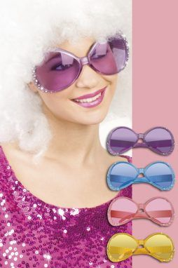 Lunettes chill strass 4 coloris