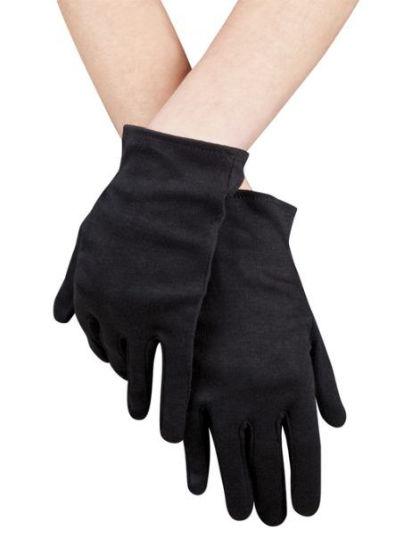 Paire de gants noirs pour adultes