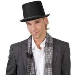 Chapeau noir haut de forme