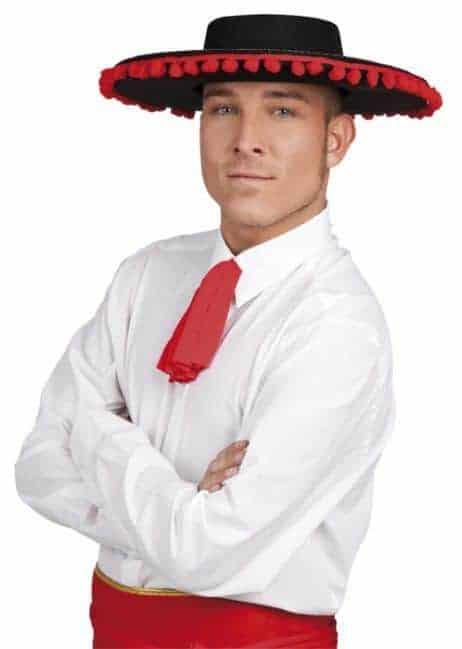 Chapeau corrida espagnole