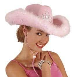 chapeau cowboy diademe
