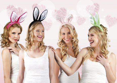 serre tete oreilles de lapins 4 coloris
