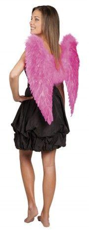 Ailes d'ange de couleur rose 65/65 cm