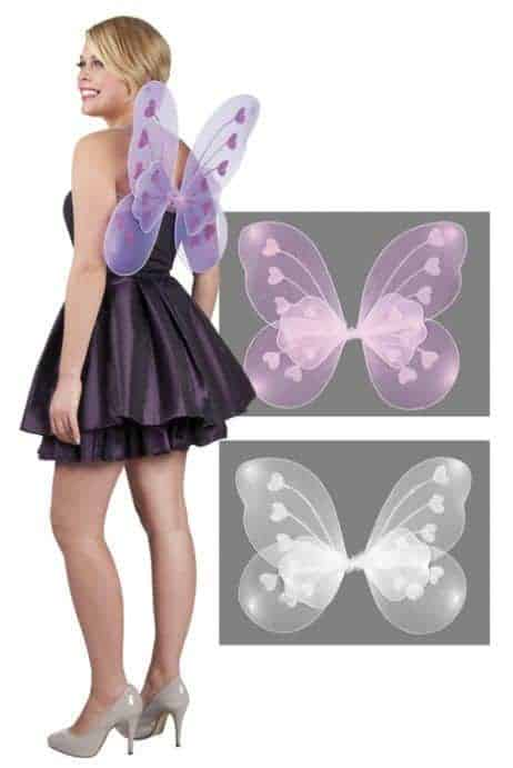 Ailes de papillon dorsales