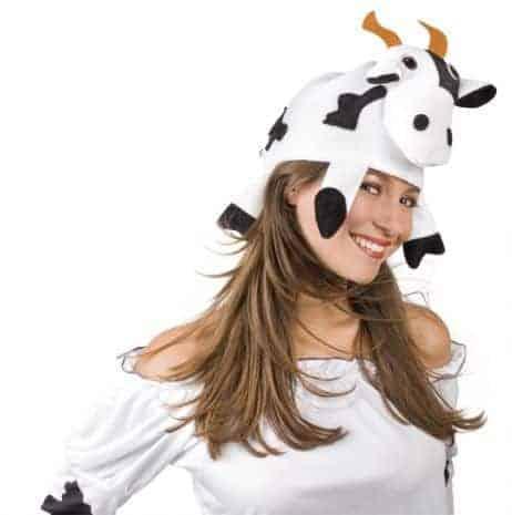 chapeau tete de vache