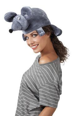 chapeau souris grise