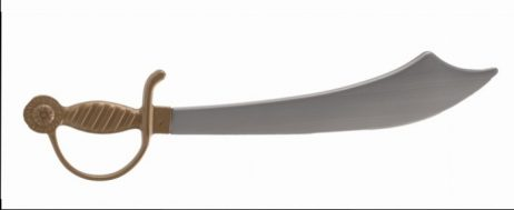 Sabre pirate 52 cm en plastique