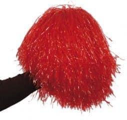 Pompon rouge de pompom girl