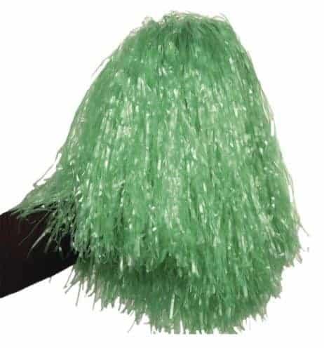 Pompon vert de pompom girl