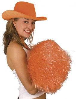 Pompon orange de pompom girl