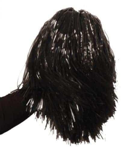 Pompon de pompom girl noir