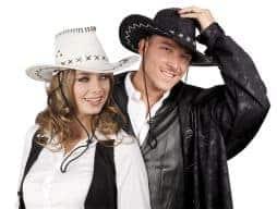 Chapeau texan homme femme