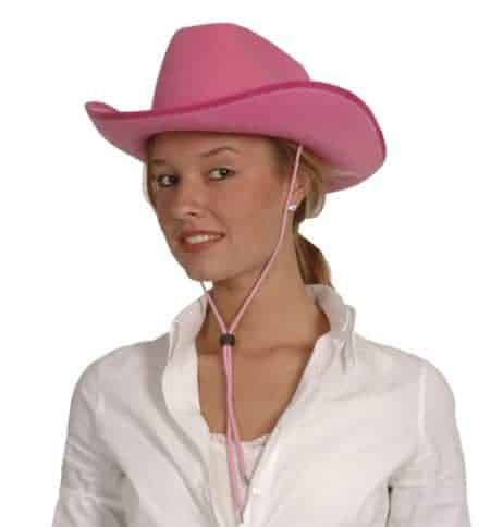 CHAPEAU COW GIRL ROSE