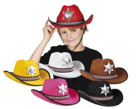 Chapeaux cowboy enfants