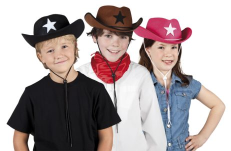 chapeau cowboy filles garcons