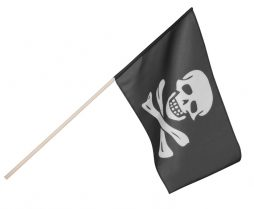 Drapeau Fanion pirate 80 cm