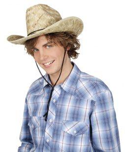 Chapeau rodeo paille