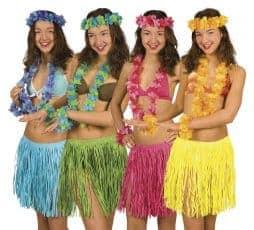 Pack 6 sets hawaien