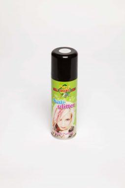 Bombe couleur argent 125 ml pour cheveux a paillettes