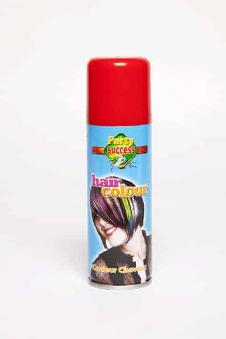 Bombe pour cheveux couleur rouge 125 ml