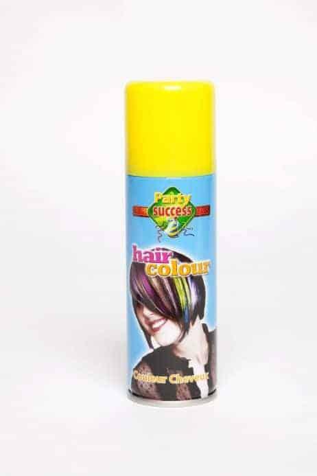 laque jaune pour cheveux 125 ml