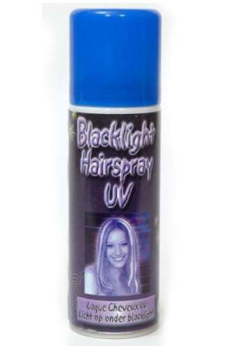 Laque uv pour cheveux lumiere noire 125 ml