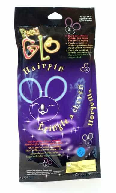 OREILLES LAPIN GLOWSTICK (Glow in the dark)