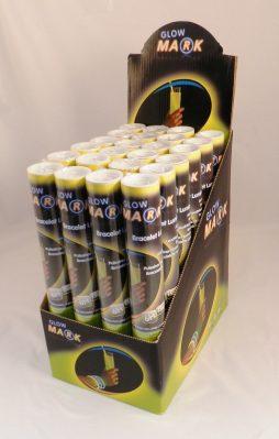Presentoir de 24 tubes bracelets fluos
