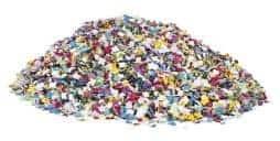 10 kg de confettis papiers