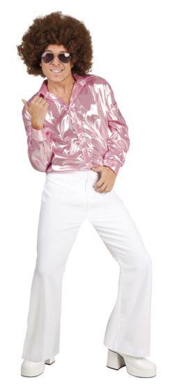 Pantalon disco blanc taille M/L