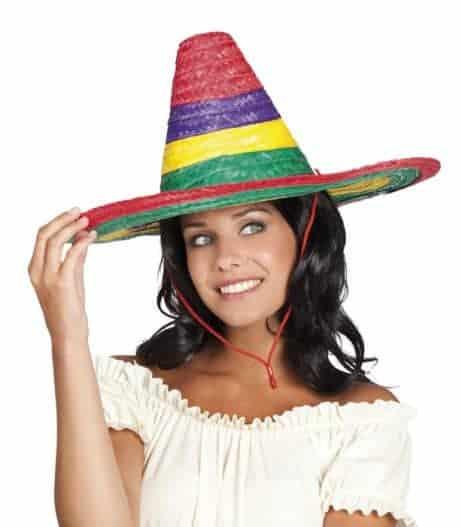 Sombrero 49 cm multicolore