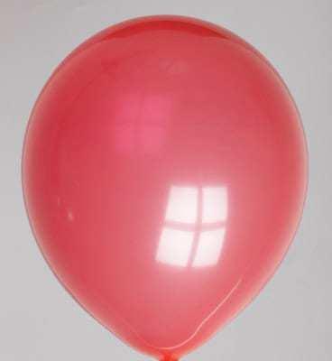 Ballons roses de 30 cm