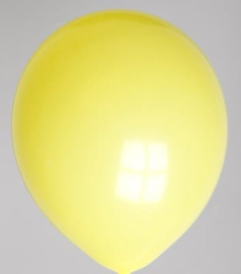 Ballons jaunes 30 cm