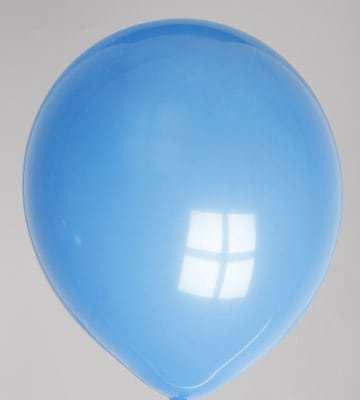 Ballons bleus dimension 30 cm