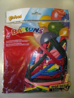 Ballons a modeler coloris assortis