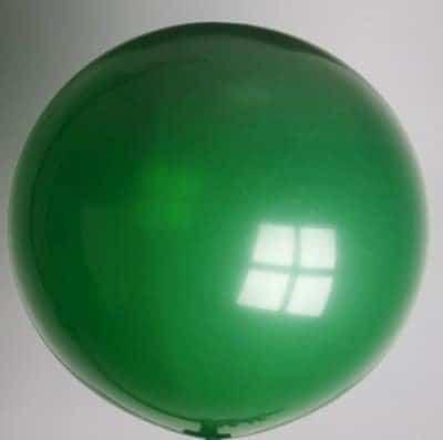 ballon vert 1 metre