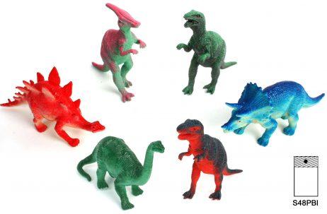 Monstres prehistoriques en plastique