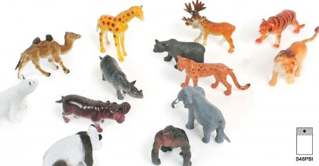 ANIMAUX DU ZOO (Assortiment 12 animaux)