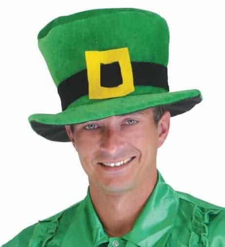 Chapeau St Patrick en velours