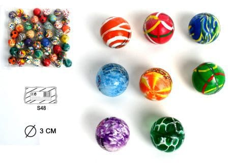 BALLES REBONDISSANTES (Diamètre 3 cm)