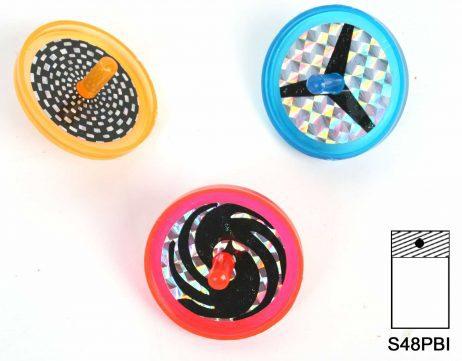 Toupies laser coniques 4 cm