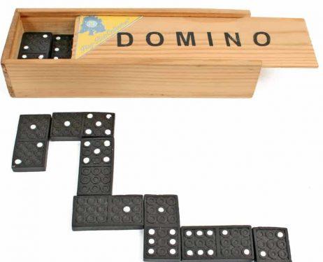 JEU DE DOMINOS FAMILY (Coffret en bois)