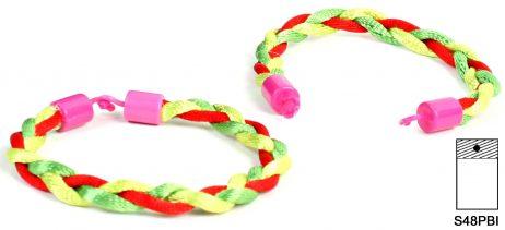 48 bracelets bresilien 18 cm