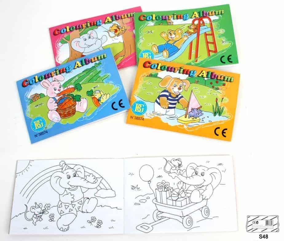 Coloriage Kermesse Ecole.Albums De Coloriage Modeles 16 Pages Assortis Ced