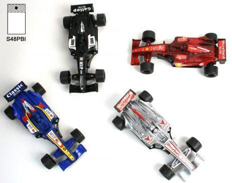 PETITES VOITURES F1 (Rétro Friction - 4 coloris)