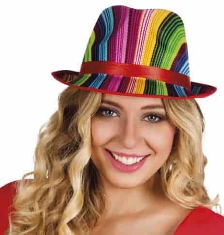 CHAPEAU DE POP STAR (Version Rainbow)